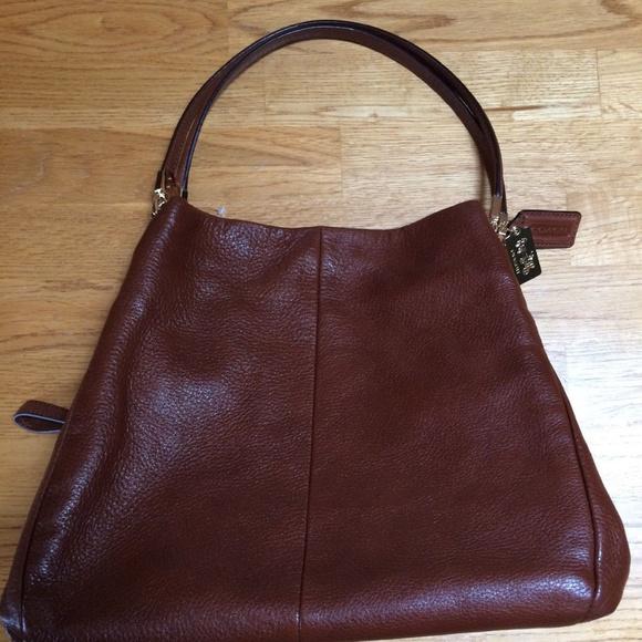 b0563e40a8fa Coach Handbags - NWOT Coach Phoebe Madison Shoulder Bag E1376-26224